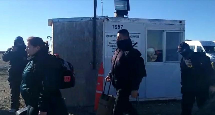 Policía contratada para la seguridad en las Represas
