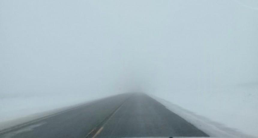 Precaución. Niebla en la Cuesta de Miguez