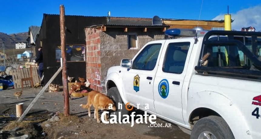 Encuentran elementos robados a la Vialidad Provincial.