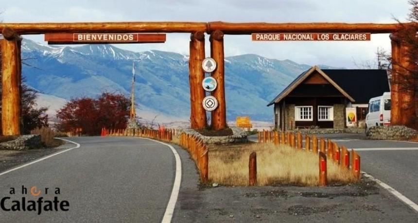 Comienza el horario de alta en el acceso al glaciar Perito Moreno