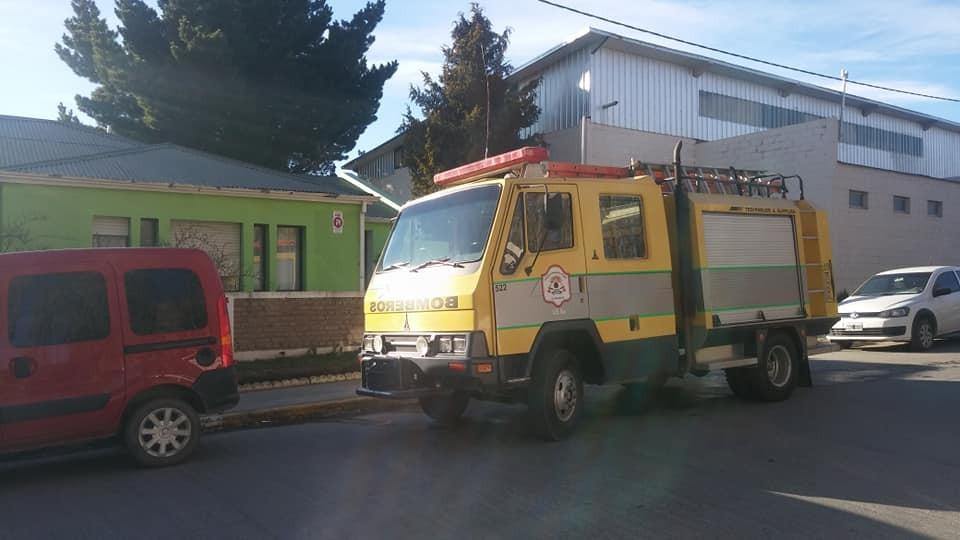 Escuela Especial. Suspenden clases hasta nuevo aviso por principio de incendio.