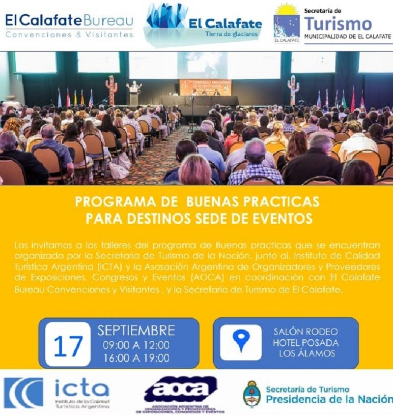 Programa de Buenas Prácticas para Destinos Sede de Eventos