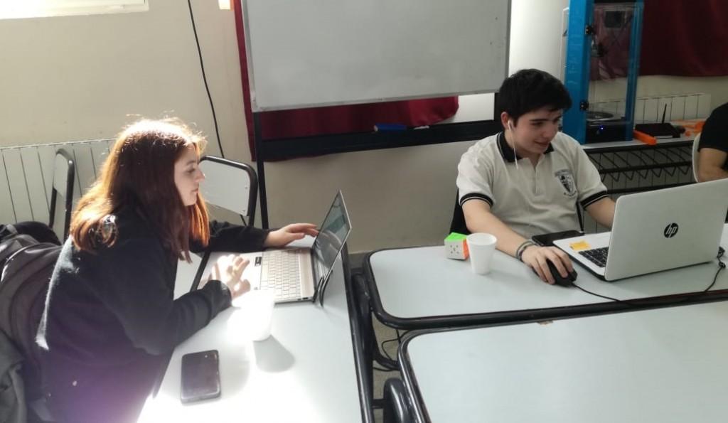 Alumnos del Industrial participaron de Olimpiadas de Informática