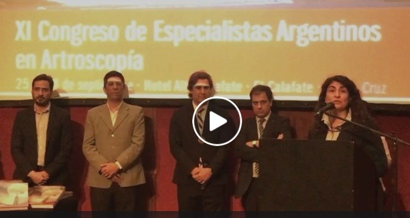 VIDEO. Ianni destacó realizar el Congreso de Artroscopía aún en el peor momento del SAMIC