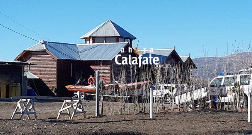 Allanamiento en sedes de la Prefectura Naval en El Calafate