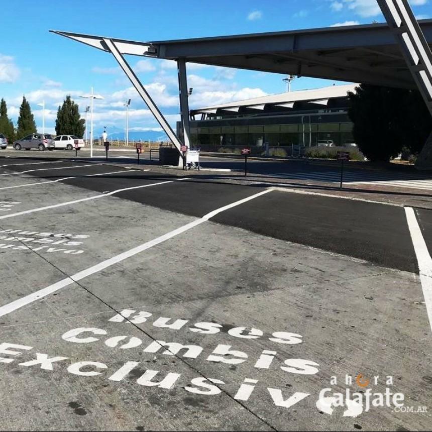 Rige el cobro de estacionamiento en el Aeropuerto de El Calafate
