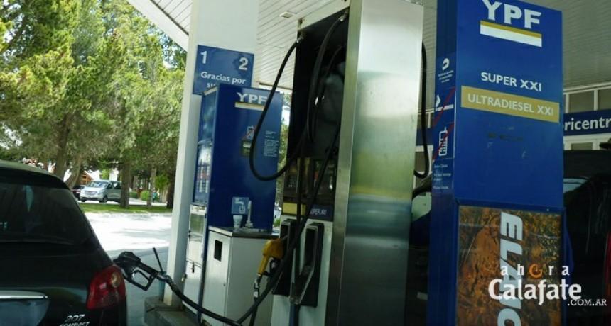 Falta nafta súper en El Calafate
