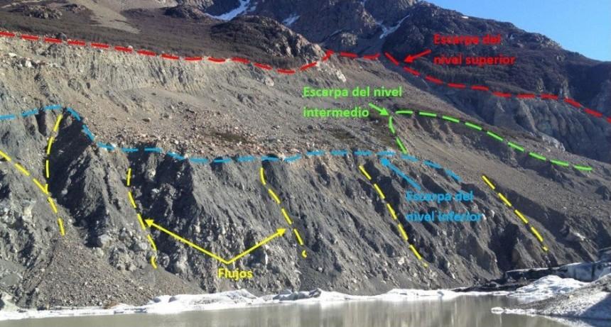 El Chaltén. Presentaron informe sobre los riesgos potenciales de un derrumbe masivo en Laguna Torre