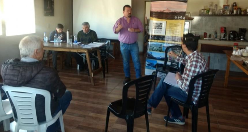 El Chaltén. Positiva reunión de transportistas con autoridades locales y provinciales