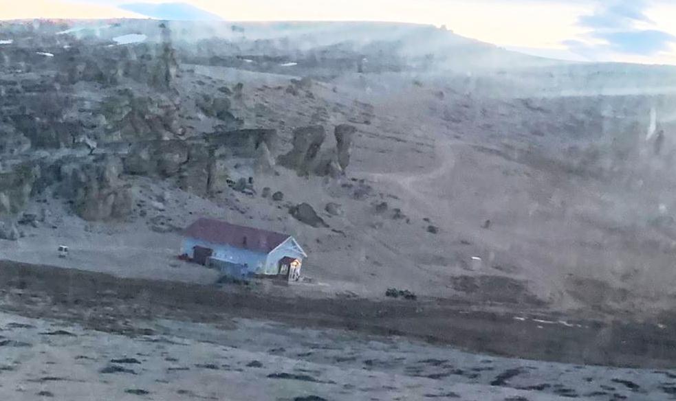 Rescate a turista accidentada en el cerro Huyliche