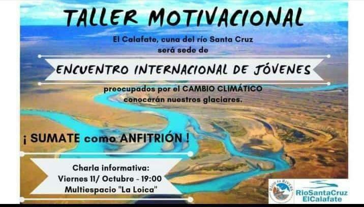 """Taller y Concurso. """"El Calafate, Cuna del Río Santa Cruz"""""""