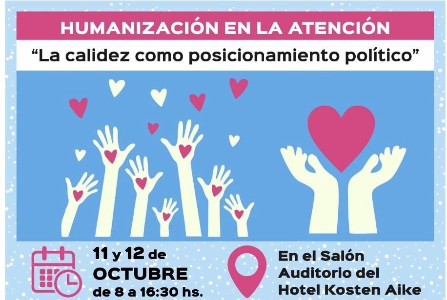 Humanización en la Atención, eje central de Jornadas de Salud en El Calafate