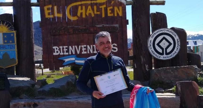 """El primer veterano de Malvinas """"Visitante Ilustre"""" de El Chaltén"""