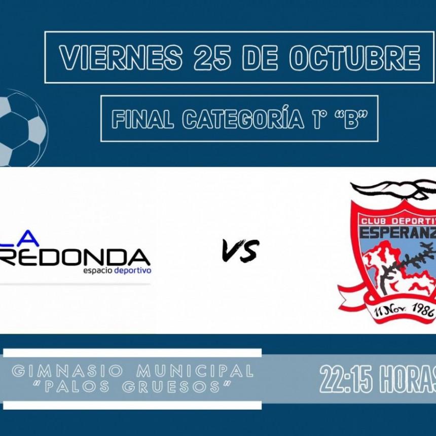 Futsal Primera B: este viernes a la noche se conocerá el campeón