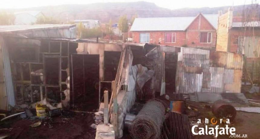Incendio afectó una vivienda en el Linda Vista