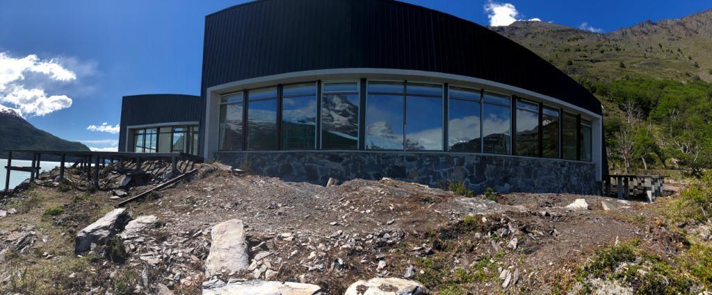 VIDEO. Es inminente la inauguración de un complejo turístico en el PN Los Glaciares