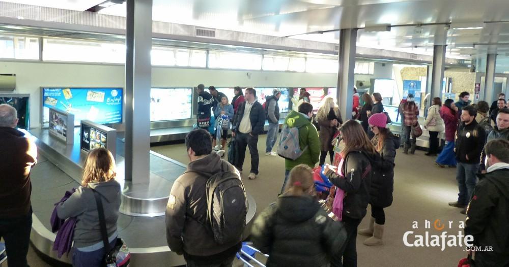 Aeropuerto. Fuerte incremento de pasajeros en octubre