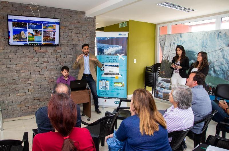 La web de Turismo de El Calafate ofrece reservas de alojamiento on-line