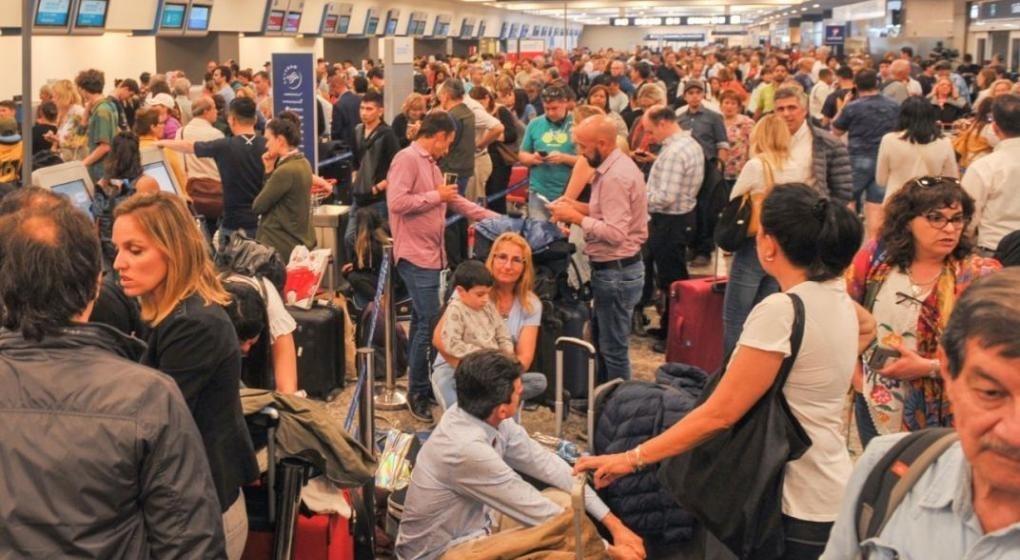 Más de 700 pasajeros varados en El Calafate