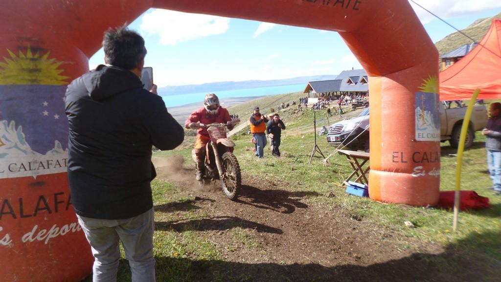 Jesús Mollica ganó la 4ta fecha del Enduro Santacruceño