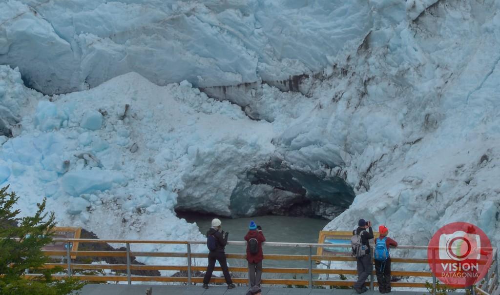 Glaciar Perito Moreno. Comenzó un inesperado y singular proceso de Ruptura