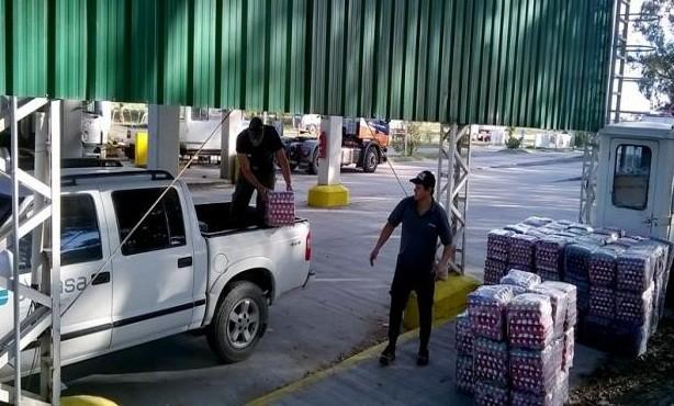 Decomisaron más de 2.000 docenas huevos que venían a El Calafate
