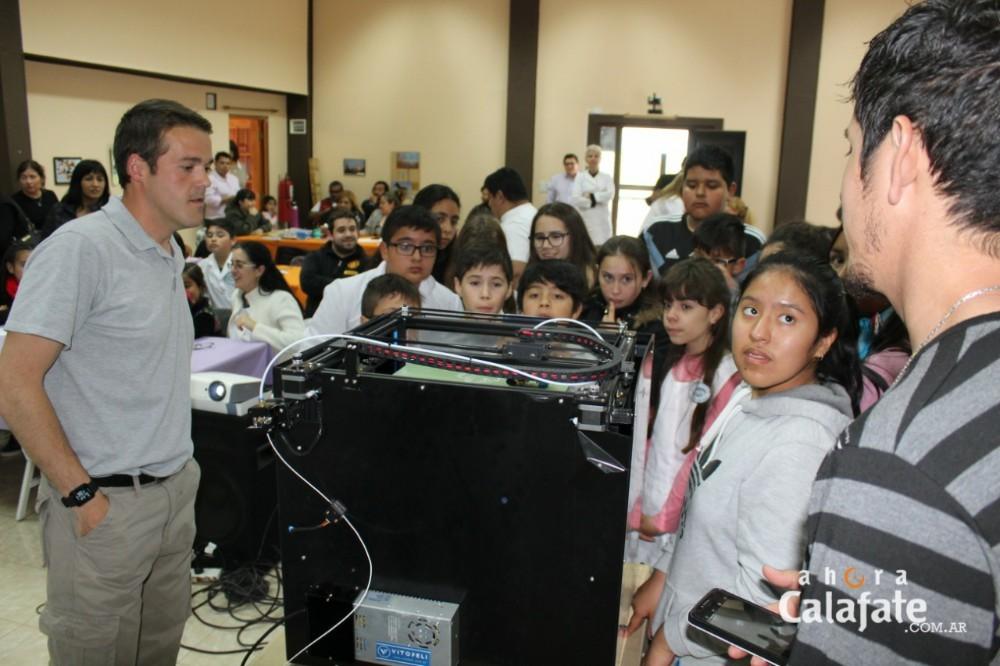 La experiencia 3D se mostró a alumnos de escuelas rurales