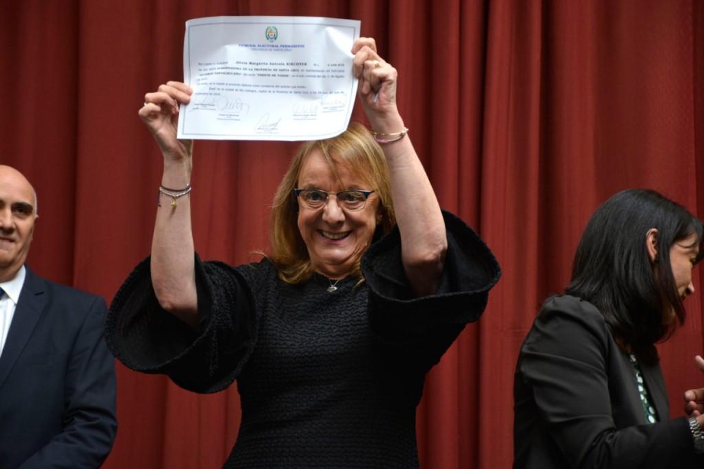 Alicia Kirchner anunció su nuevo gabinete