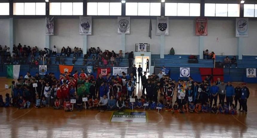 El Calafate en el Patagónico Sub. 13 de Futsal de AFA