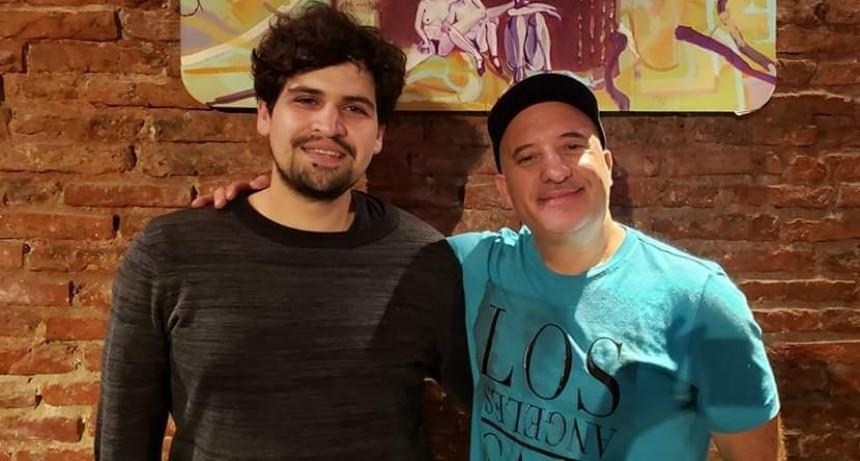 VIDEO. Guitarrista de El Calafate realizará gira patagónica junto a un reconocido músico