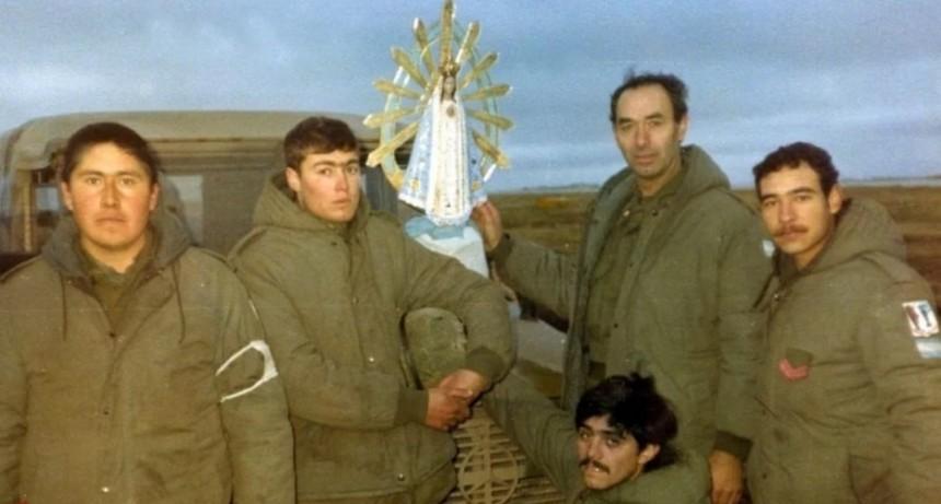 La Virgen que estuvo en Malvinas vendría a El Calafate