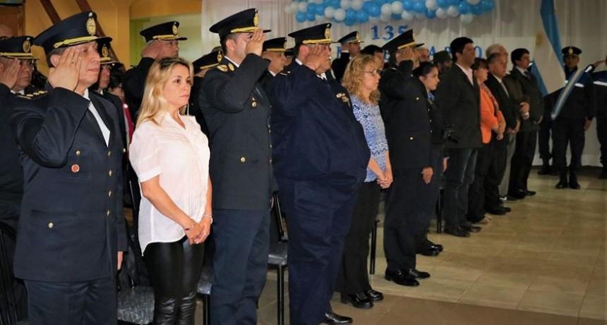 El Calafate celebró los 135 años de la Policía de Santa Cruz