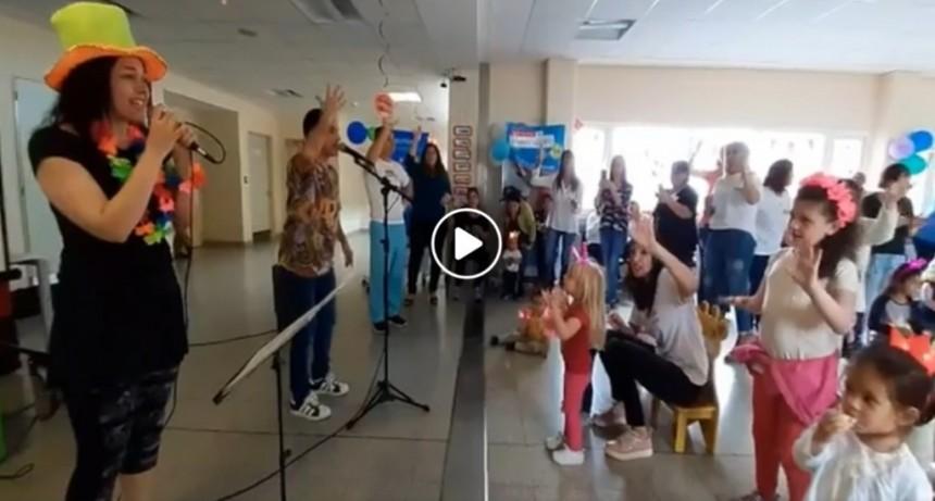 VIDEO. Se festejó la Semana del Prematuro
