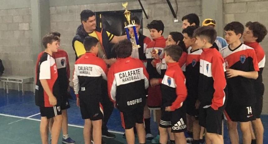 El Sub14 de Calafate ganó el Torneo provincial de Handball