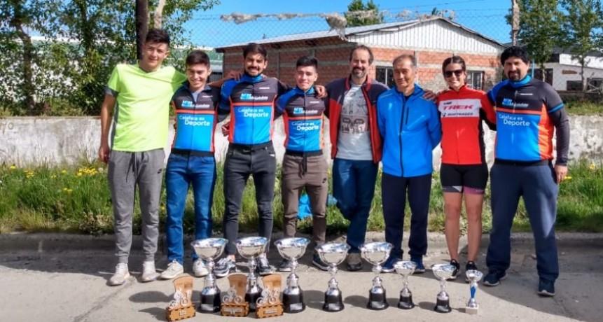 El Calafate tiene varios campeones provinciales de MTB
