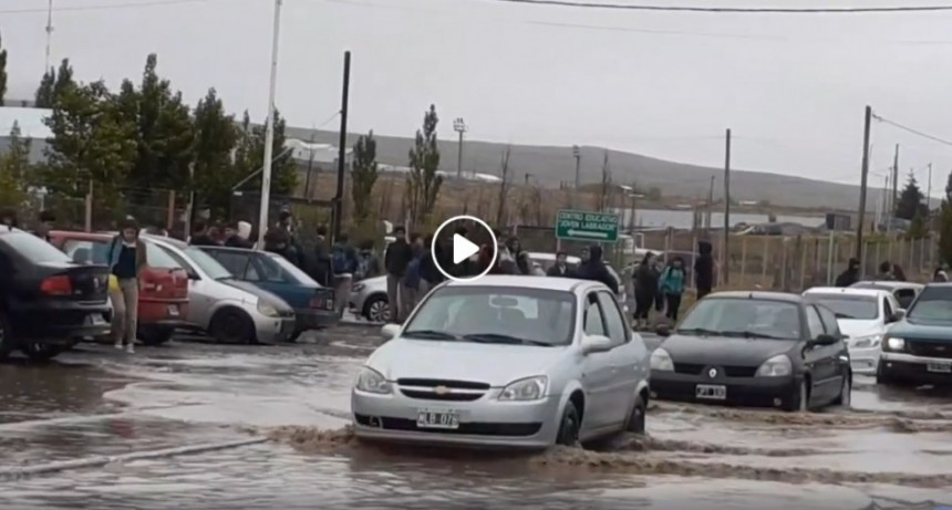 En 15 horas llovió mucho más que el promedio mensual
