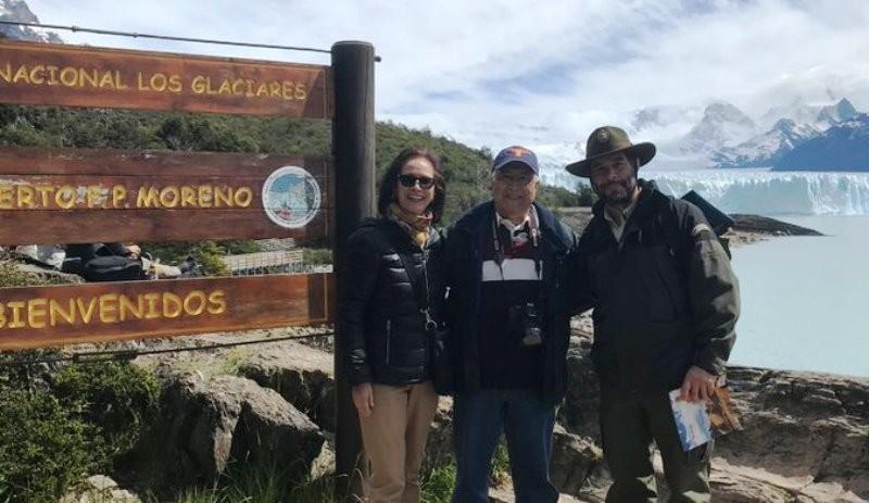 Embajador de EEUU visitó el Glaciar Perito Moreno