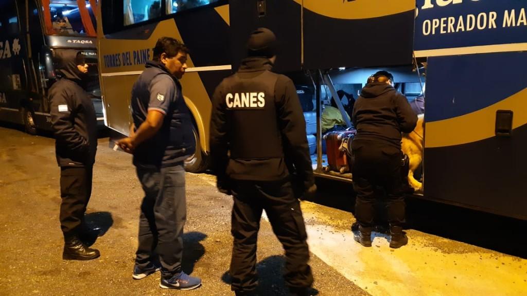 Policía intensificó controles en El Calafate