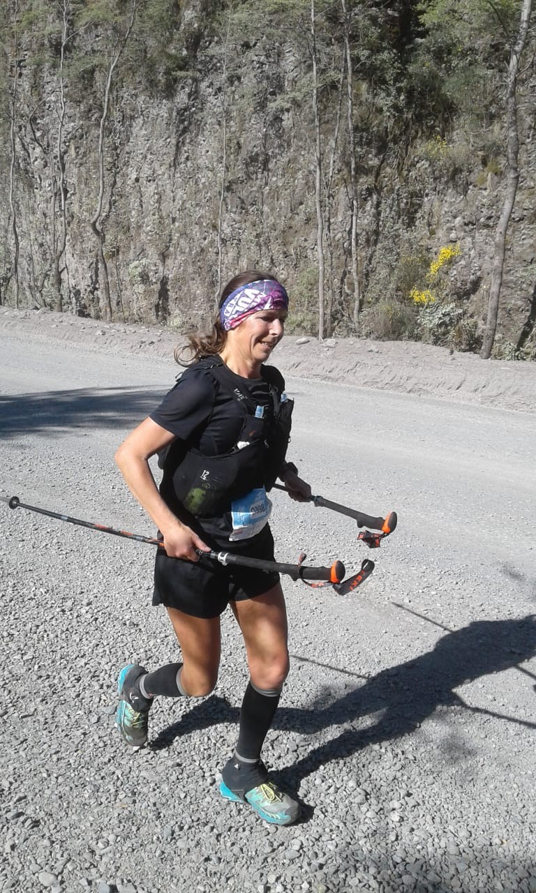 Pascale Tailleu ganó la Vulcano Ultra Trail
