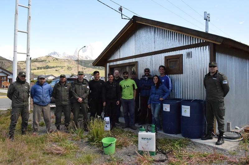 Instalaron nuevo Puesto de Desinfección de didymo en El Chaltén