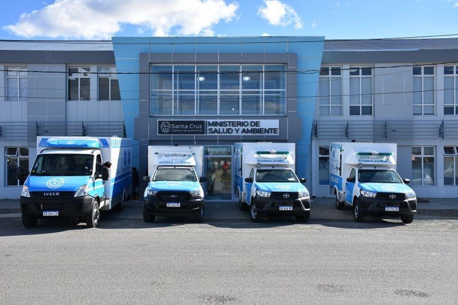 Una nueva ambulancia para Tres Lagos