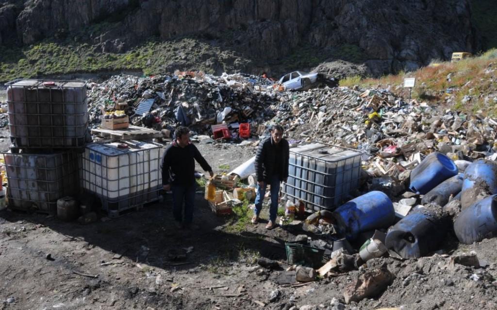 El Chalten. Nuevo Intendente dijo estar preocupado por  la disposición de residuos