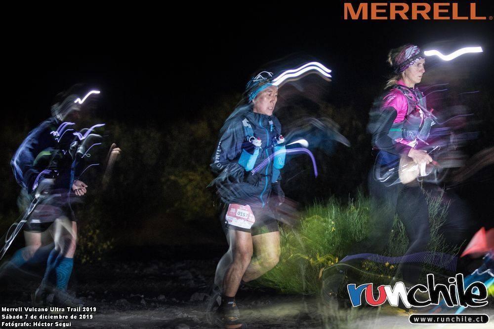 Rafael Lim corrió su segunda Vulcano Ultra Trail en los 100K