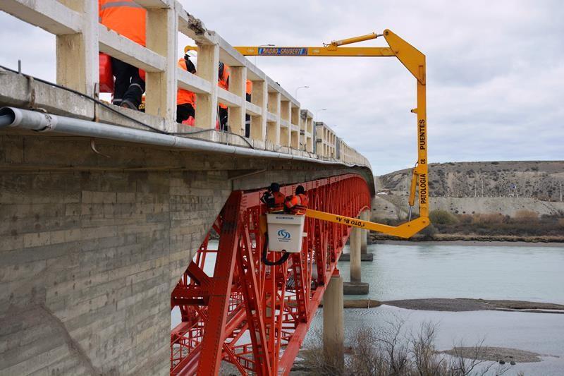 Ruta 3. Durante 10 noches se cortará el tránsito en el Puente sobre el Río Santa Cruz