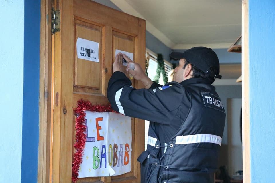 Comenzaron las clausuras a alojamientos sin habilitación