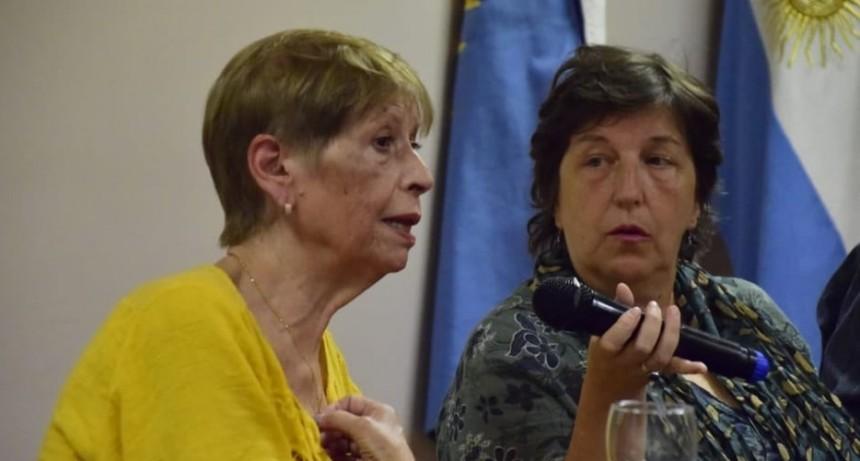 Dos hijos de Bayer e Isabel Soto participan del Homenaje a los Peones Fusilados.