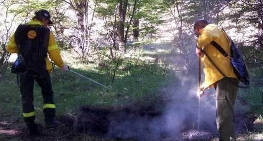 El Chalten. Alerta por un incendio en el Parque Nacional